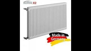 Обзор стальные панельные радиаторы Kermi