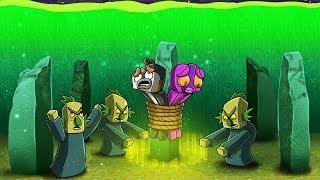 SECRET UNDERWATER VILLAGER RITUAL! (Minecraft Island Survival)