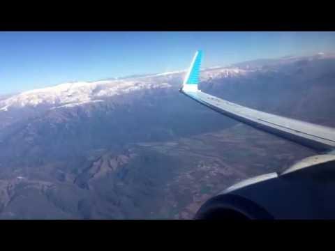 ✈ B737-800 Aerolineas Argentinas : pushback to cruise level @ Salta