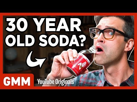 30-Year-Old Soda Taste Test