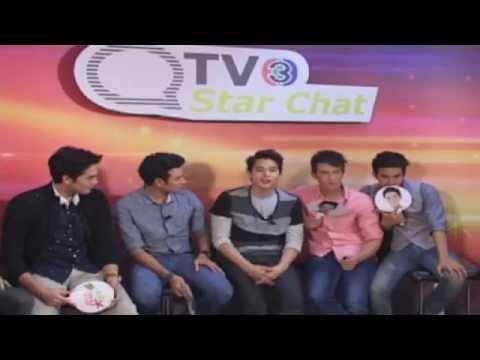 130628 ThaiTV3 -Star Chat สุภาพบุรุษจุฑาเทพ เกรท-โป๊ป-เจมส์-บอม-เจมส์