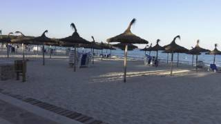 Sa Coma bei Cala Millor auf Mallorca - der Strand und die Umgebung