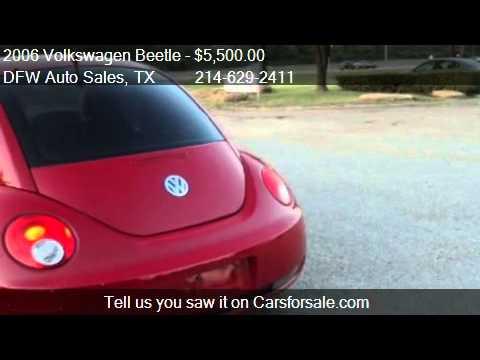 2006 Volkswagen Beetle - for sale in Irving, TX 75062