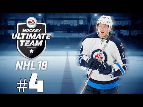 NHL 18 HUT: MA PREMIÈRE GAME! #4 | (QC,FR)