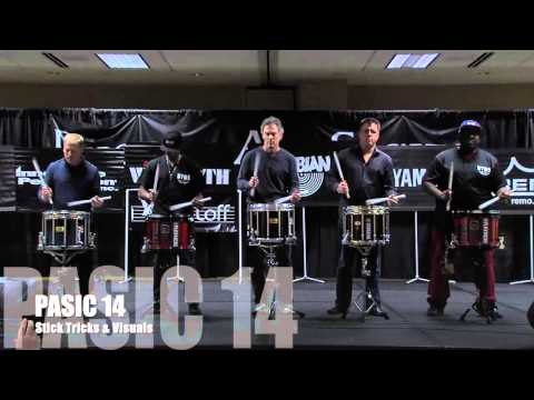 PASIC14 Stick Tricks & Visuals Marching Clinic