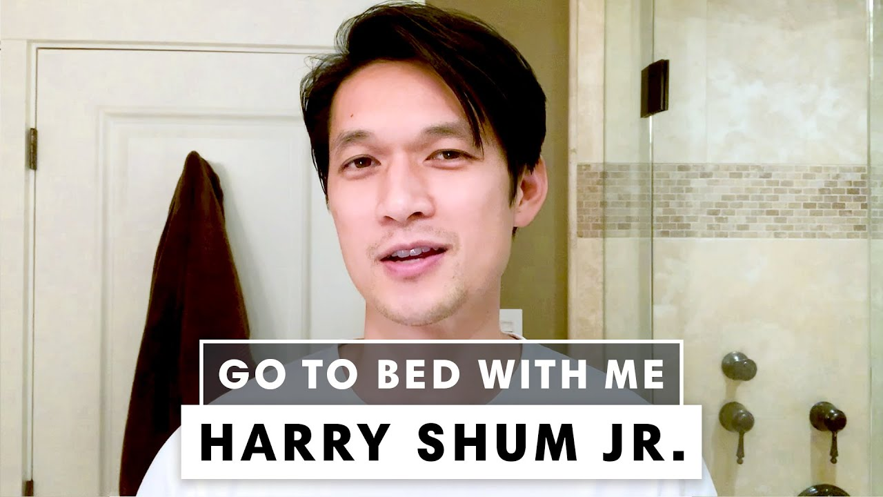 Harry Shum Jr's 3-Step Nighttime Skincare Routine for Combination Skin | Go To Bed With Me | BAZAAR