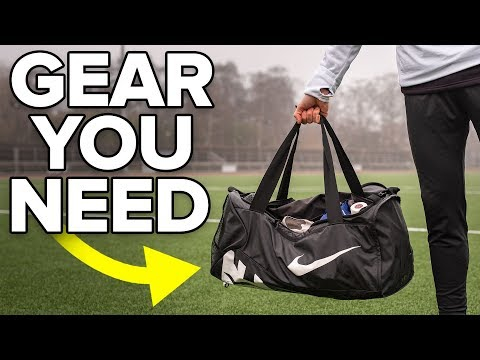 FOOTBALL GEAR YOU DIDN'T KNOW YOU NEED | What To Pack