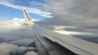 Ryanair EI-FIM Turbulent Heavy Landing At Leeds Bradford Airport From Alicante 31st August