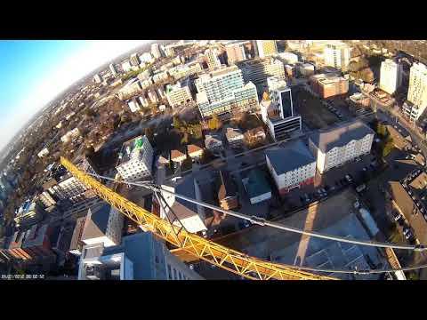 Crane Diving - First Attempt