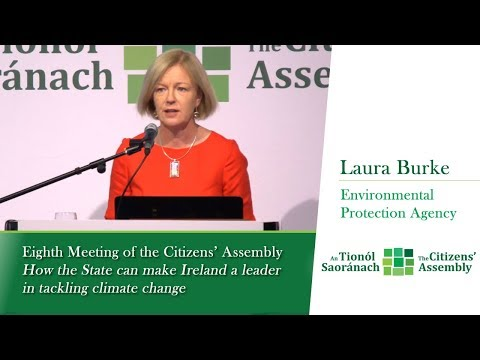 Laura Burke - Session 2: Climate Change in a broader Environmental Context  - EPA Ireland