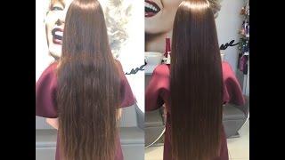 видео полировка волос