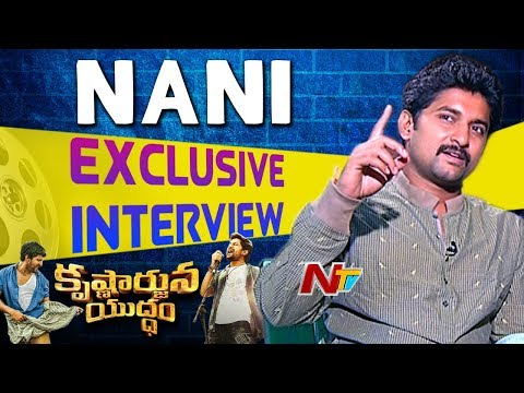 I Accepted the Movie Blindly Because of Gandhi : Hero Nani || Exclusive Interview || NTV