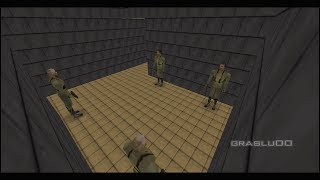 GoldenEye 007 N64 - Japanese Temple - 00 Agent (Custom level)
