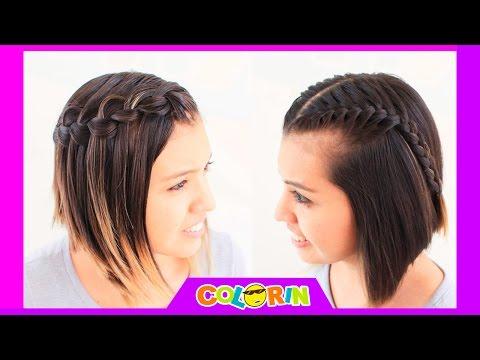 6 peinados faciles para cabello corto