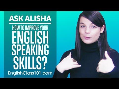 How to Improve Your English Speaking Skills? Ask Alisha