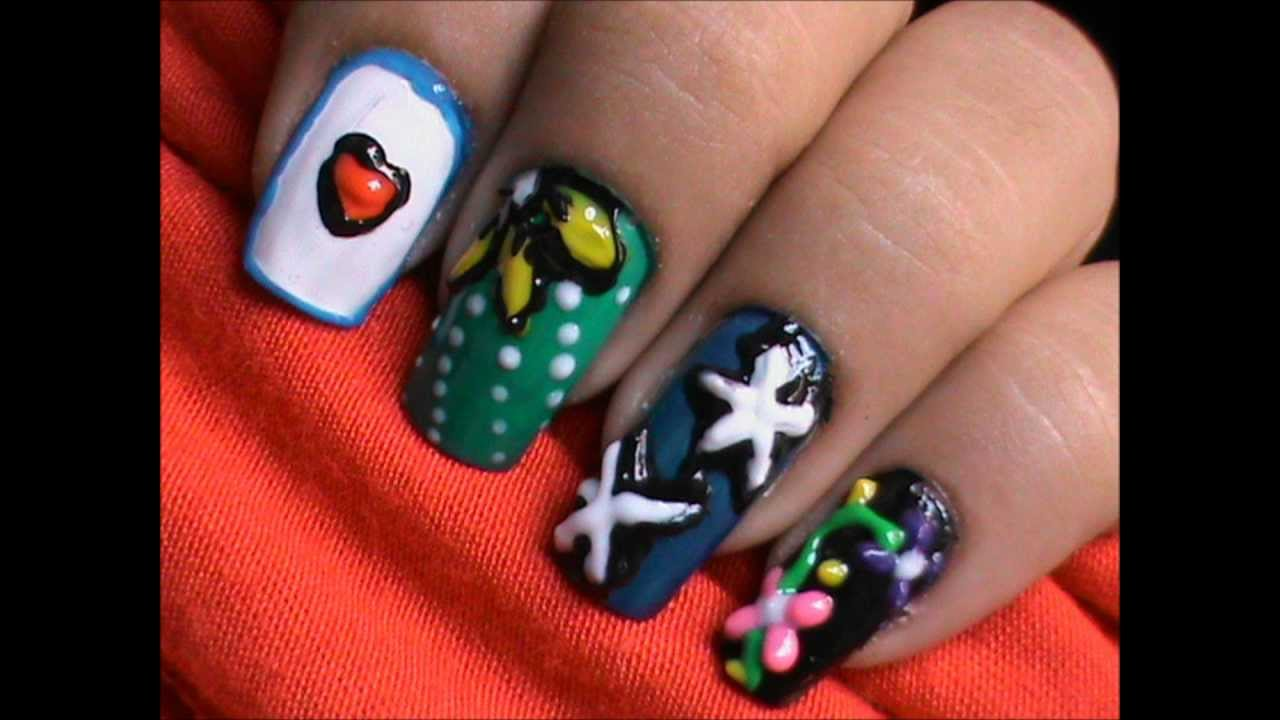 3D Nail Art Pens - For 3D nail designs! - YouTube