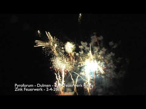 Pyroforum 2011 - Zink Feuerwerk -  Feuerwerk -  Vuurwerk demo - Dulmen - 2-4-2011