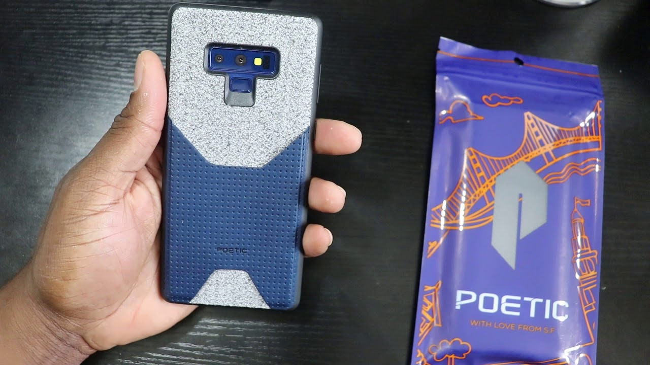 detailed look da219 75f29 Samsung Galaxy Note 9 | Poetic Case Suite! Unboxing
