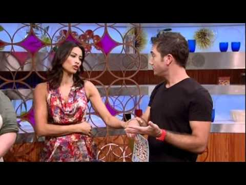 """Gino says """"crap"""" on Let's Do Lunch with Gino & Mel - 25th August 2011"""