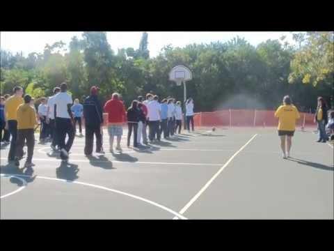 Mt. Lebanon (PA) Boys & Girls Basketball visits CHC for 2011 Jr Orange Bowl Bball Classic