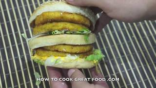 McDonalds Mega Chicken Big Mac
