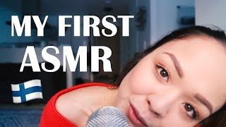 ASMR IN FINNISH  🇫🇮💕 (whispers, inaudible, mouth sounds, tapping)