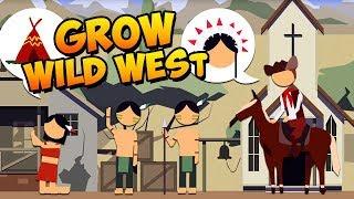 Ich baue eine Siedlung auf - Grow Wild West Gameplay German