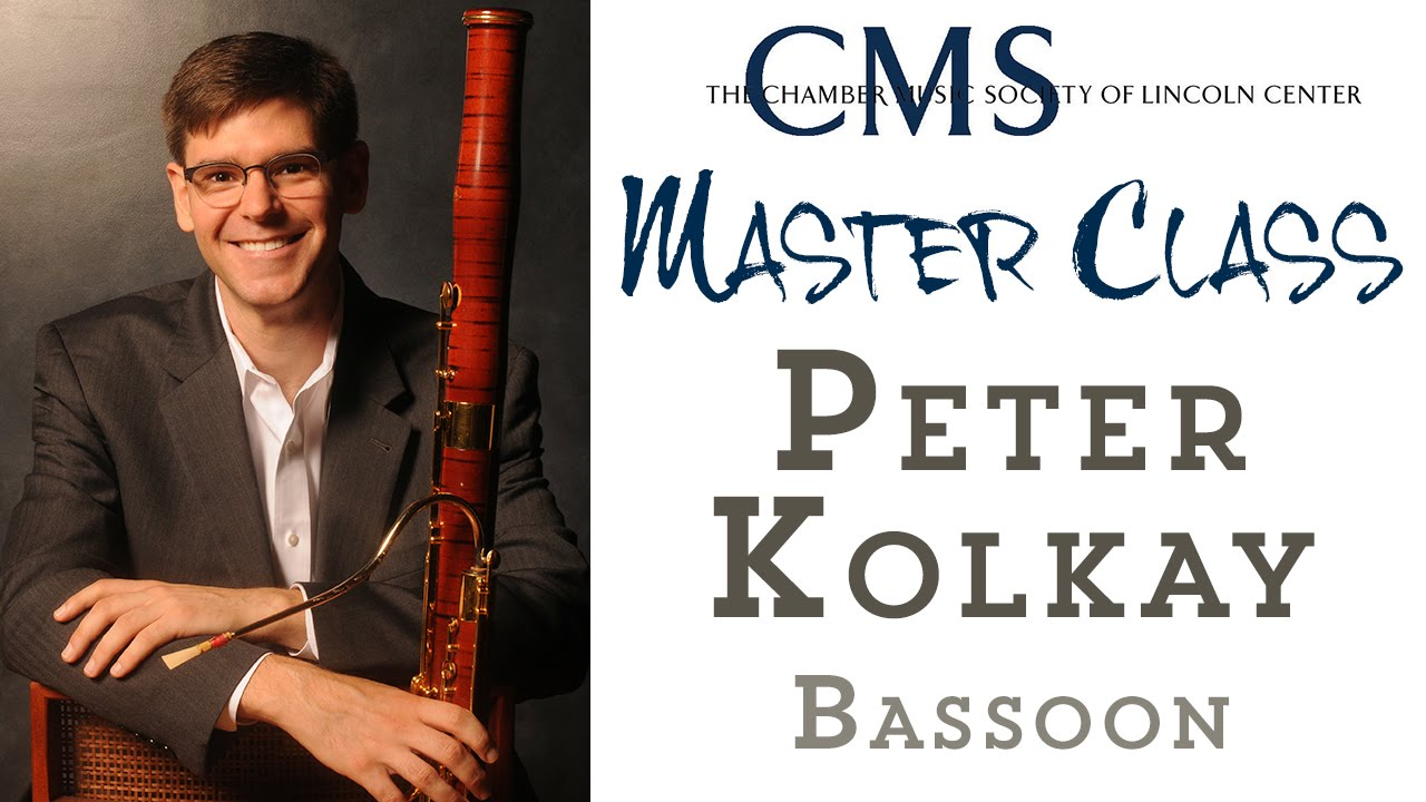 Master Class with Peter Kolkay