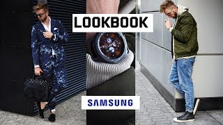 Moda męska 2017 - LOOKBOOK #1 [trend camo i streetwear] - DWA STYLE - jeden zegarek Samsung