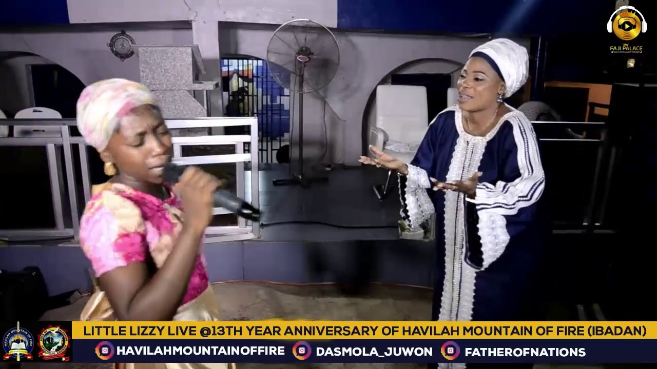 Download LITTLE LIZZY PERFORM LIVE AT HAVILAH MOUNTAIN OF FIRE  (DADDY AND MUMMY OLUBORI)