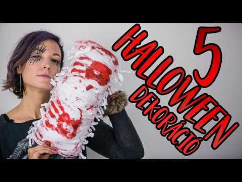 youtube filmek - 5 rémisztően jó 🎃 HALLOWEEN dekoráció | INSPIRÁCIÓK Csorba Anitától