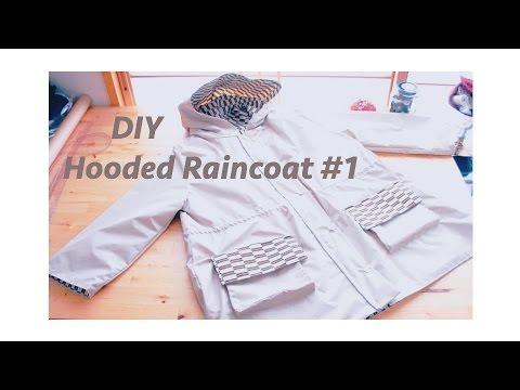 Make Your Own Stylish Raincoat - YouTube