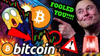 ELON MUSK BITCOIN DISTRACTION!!!!! While THIS Happened to BTC!!! [and no one noticed]
