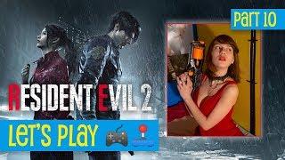 Resident Evil 2 • Part 10 AKA Fighting Birkin! • Let's Play