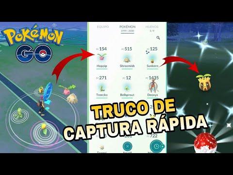 ¡TRUCO CAPTURA RÁPIDA POKEMON GO! ¡CONSIGO UN POKEMON SHINY! thumbnail
