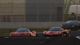 Battle Ferrari LaFerrari  vs Pagani Huayra vs Lamborghini Sesto