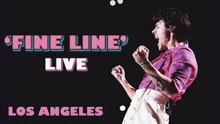 HARRY STYLES HIGHLIGHTS FROM THE FINE LINE SHOW IN LOS ANGELES 2019