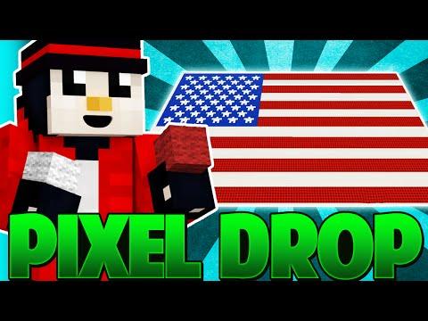 Minecraft PIXEL DROP - Constructii 2D?! [Ep.1] W/ XSlayder