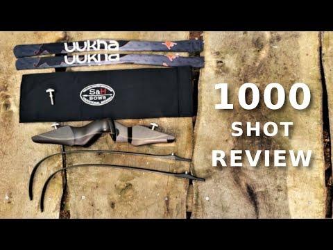 1000 Shot Test And Review - S&H Icaro ILF Riser And Uukha VX+ Limbs