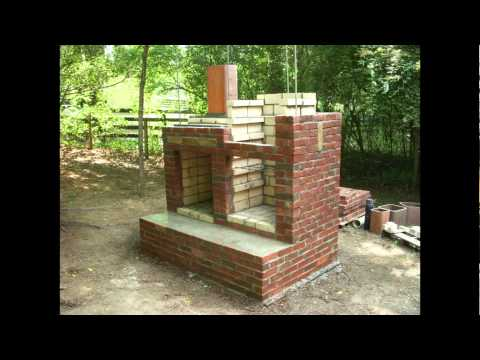 brick smokehouse construction