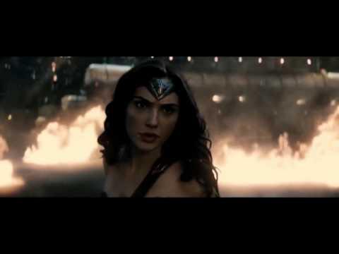 【神力女超人】蝙蝠俠對超人【氣勢磅礡 震撼配樂】