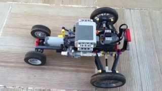[MOC] lego voiture avec suspention