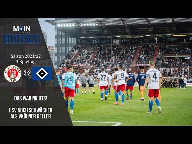 Scholles Blitzfazit zum Spiel   FC St. Pauli 3:2 HSV   Saison 21/22   #025