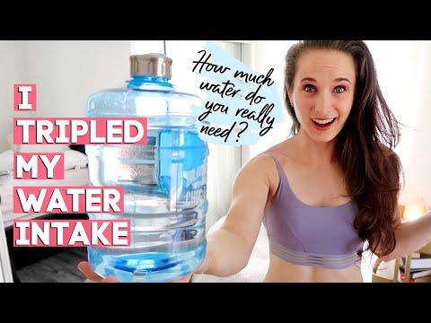I Tried Tripling My Water Intake for 1 Week | BUILDING HEALTHY HABITS