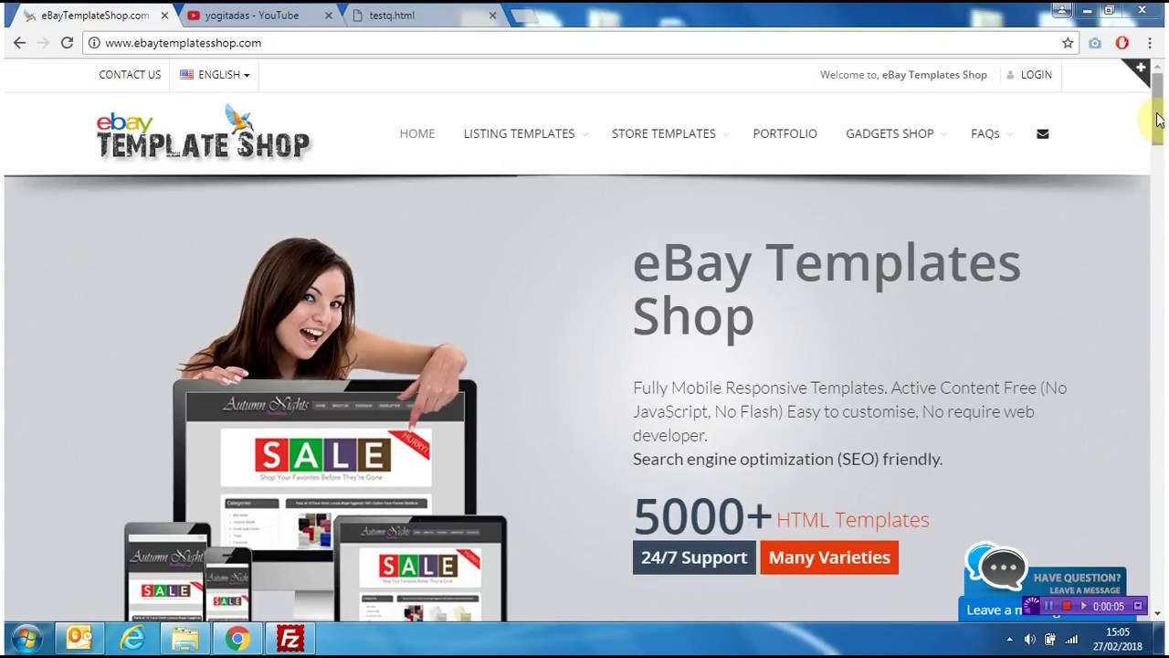 Youtube to eBay using HTML5 Video tag - YouTube