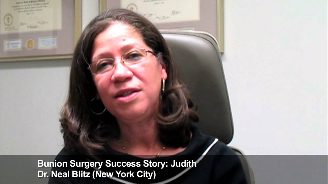Best Bunion Surgeon Nyc Success Story Dr Blitz Patient
