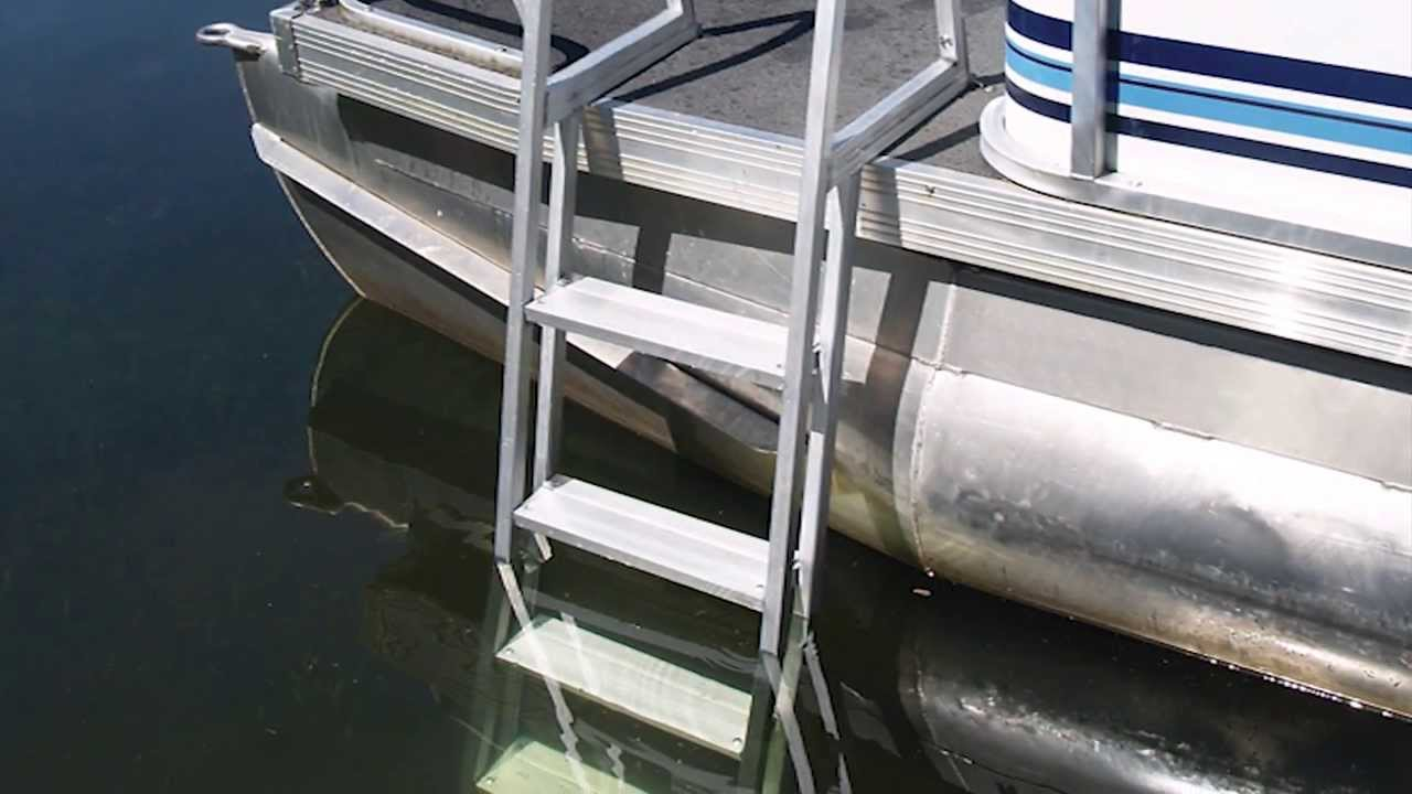 Extreme Max Pontoon Amp Dock Ladder Youtube