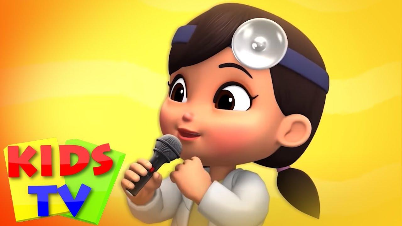 Canción del doctor   Videos infantiles   Kids TV Español Latino   Poemas para niños   Animación