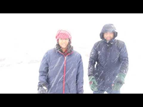 WOW SNOWFALL IN MANALI