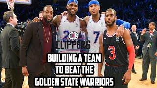 NBA 2K16 - Building A Team To Beat The Warriors (Brotherhood Edition)